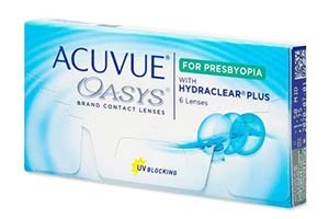 Φακοί επαφής Acuvue Oasys for Presbyopia
