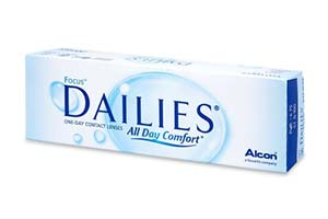 Φακοί επαφής Focus Dailies All Day Comfort